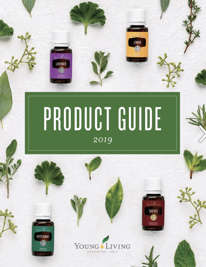 Young Living Product Guide 2019 (Engl.)